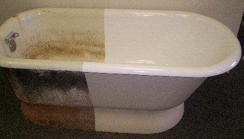 How To Prepare Your Bathtub Surface For Reglazing | Rub A Dub Tub Reglazing