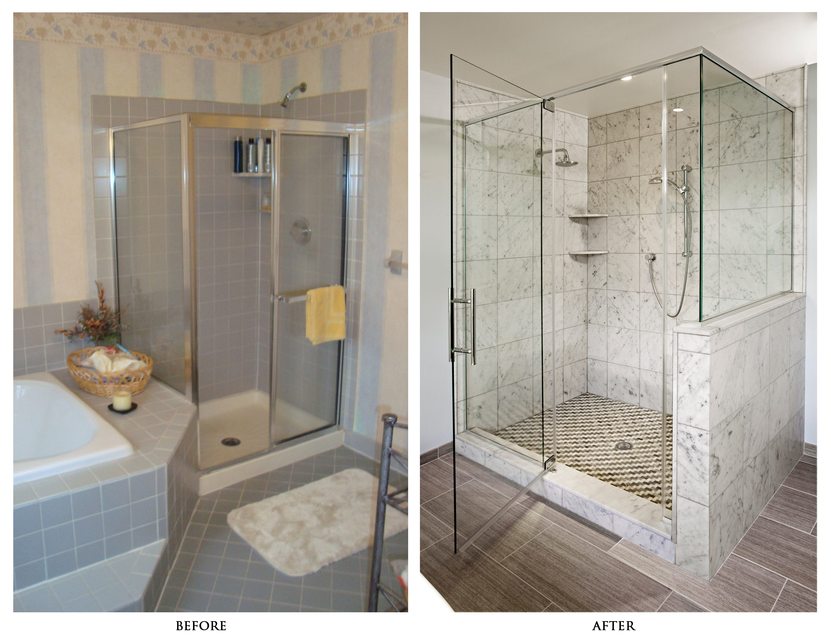 7 signs it s time to remodel your bathroom rub a dub tub reglazing - S bathroom remodel before and after ...