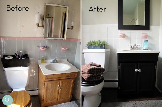How to budget a bathroom makeover - Cheap bathroom ideas for small bathrooms ...